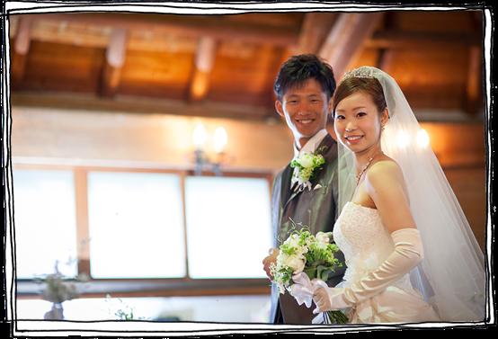 軽井沢の結婚式の事例1