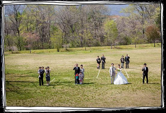 軽井沢の結婚式の事例5