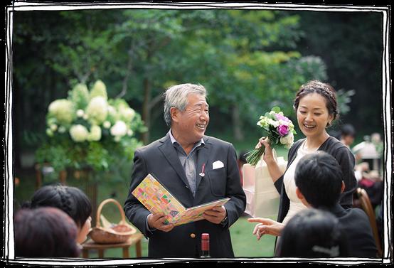 軽井沢の結婚式の事例7