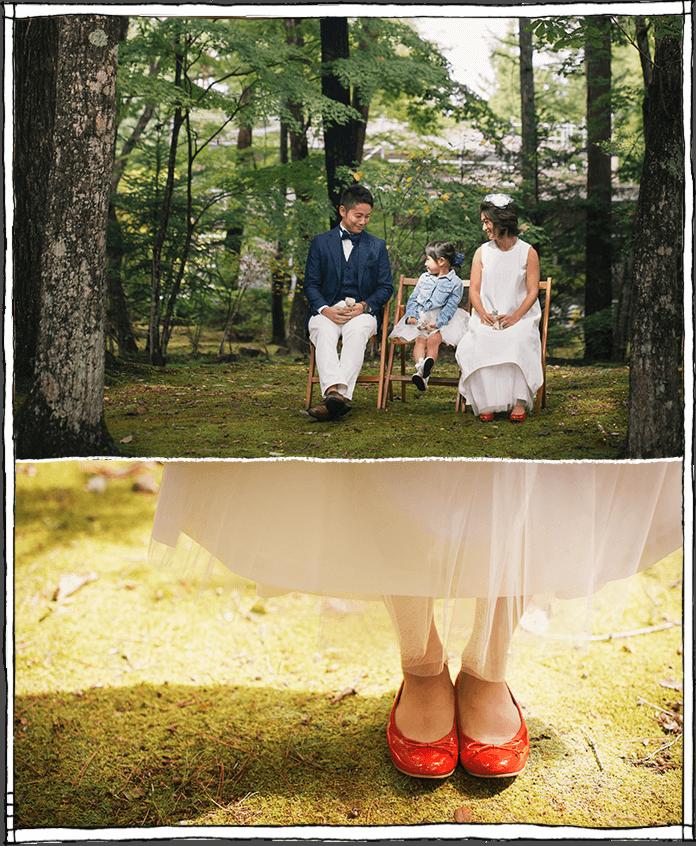 軽井沢の森の結婚式