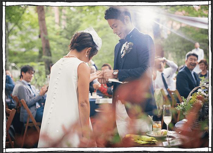 軽井沢の結婚式