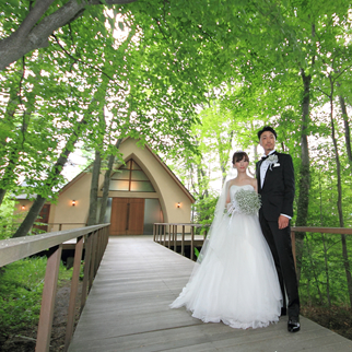 軽井沢の結婚式場の有明邸イメージ