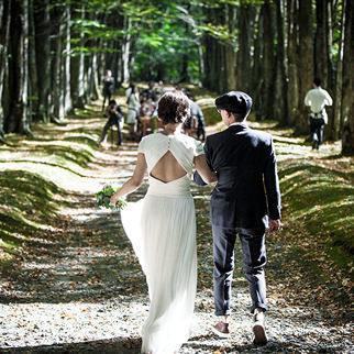 軽井沢の結婚式イメージ