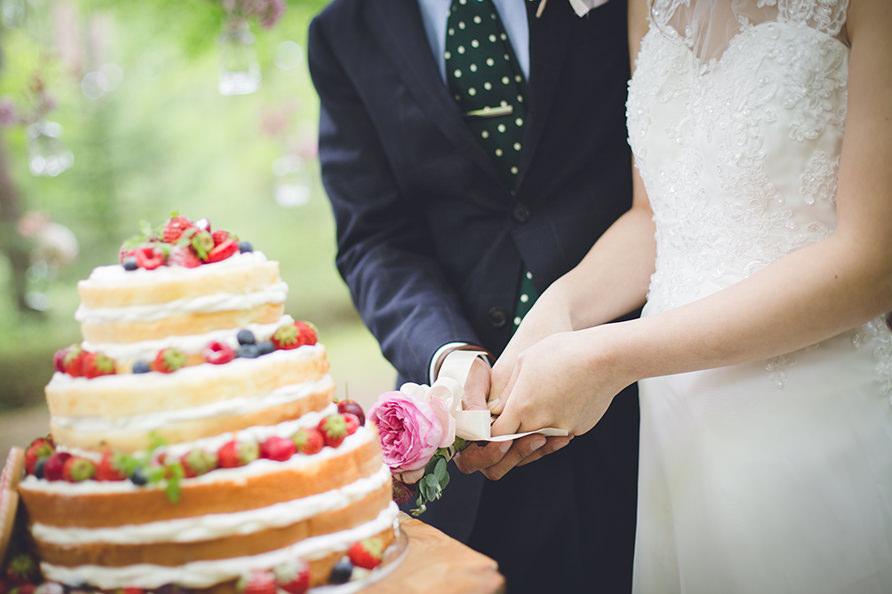 イメージ通りの結婚式の写真