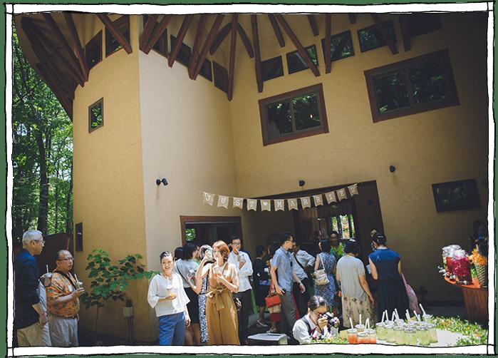 ガーデンパーティの写真