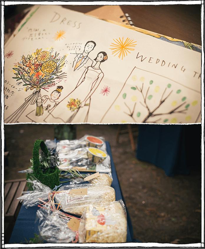 軽井沢の結婚式_フラワーデコレーション