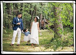 軽井沢の森の中でのウェディング_インデックス写真