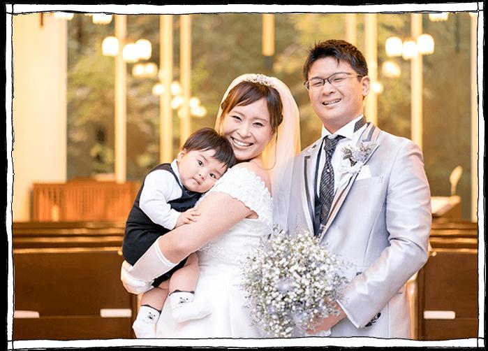 軽井沢アットホームな結婚式の写真
