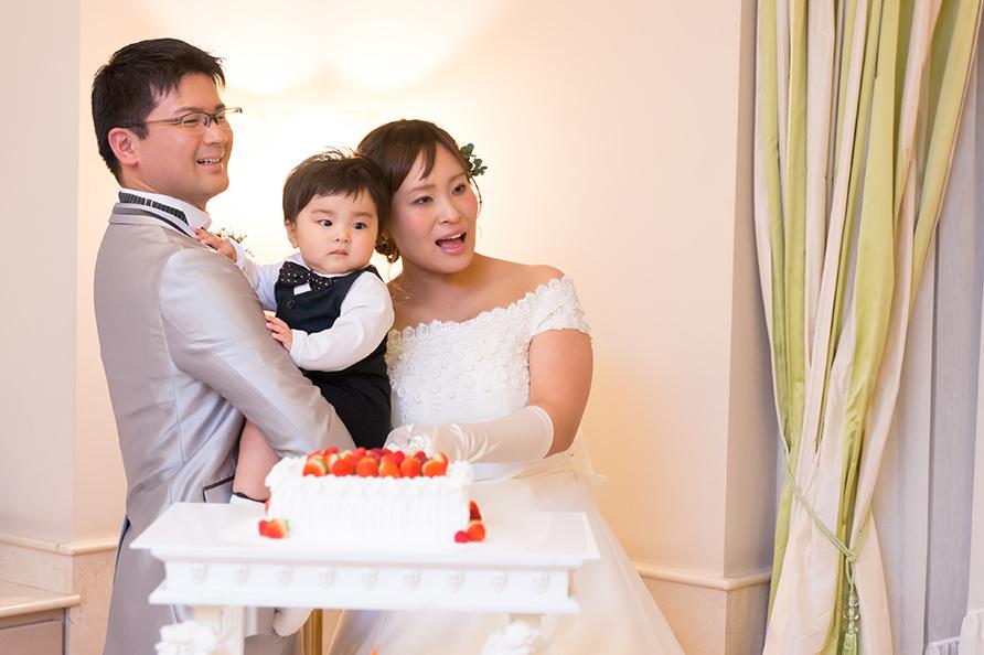 軽井沢の結婚式の写真